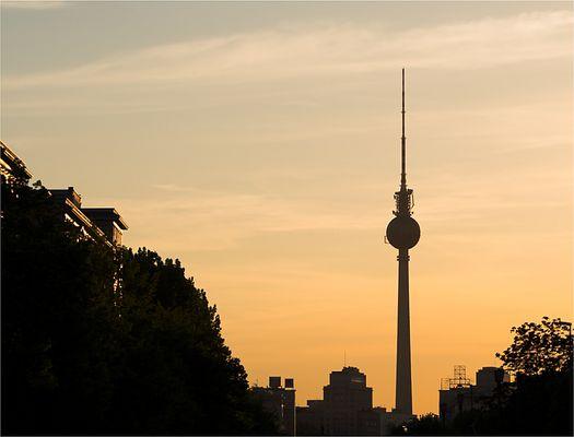 Abend in Berlin