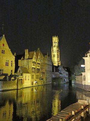 Abend in Brugge