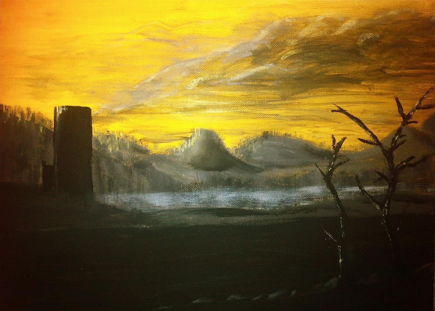 Abend in der Eifel