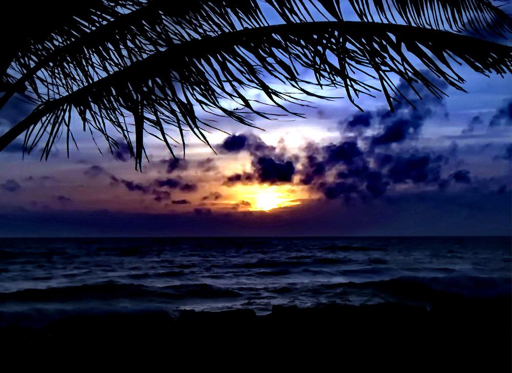 Abend in der Karibik