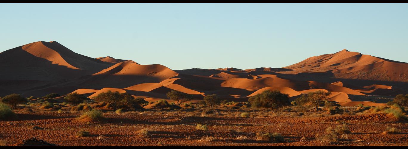 Abend in der Namib
