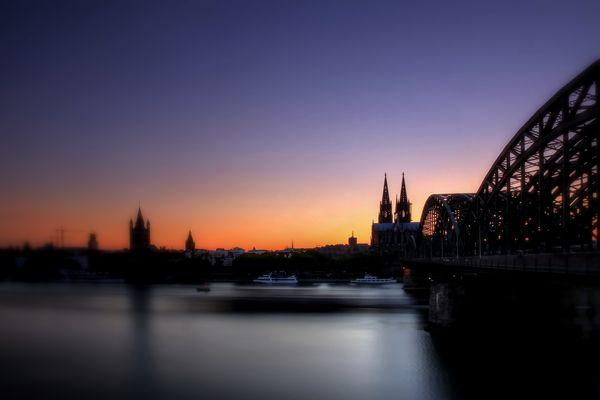 Abend in Köln