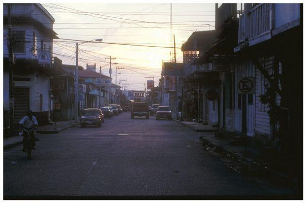 Abend in La Ceiba (Honduras)