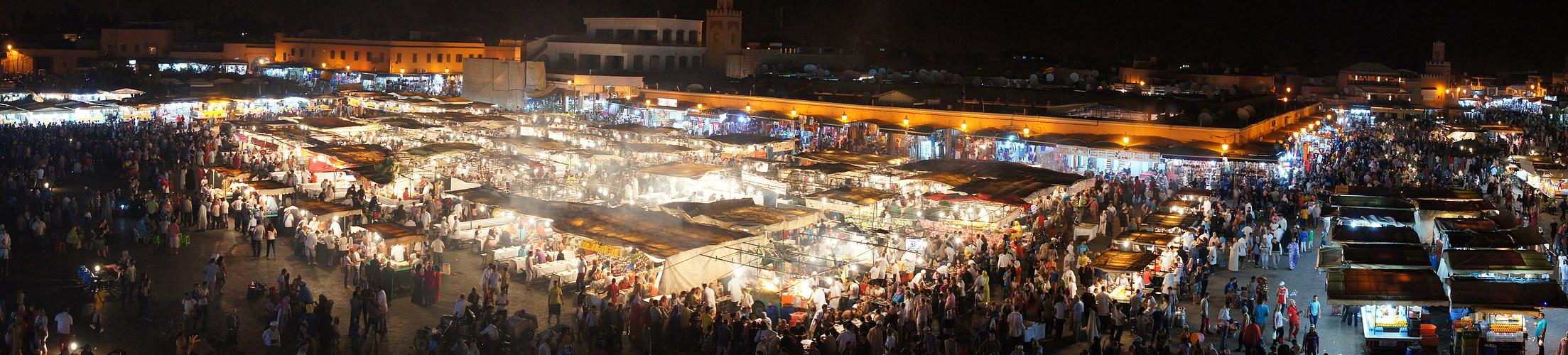 Abend in Marrakesh