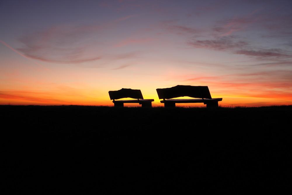 Abend in Norddeich- es ist noch Platz