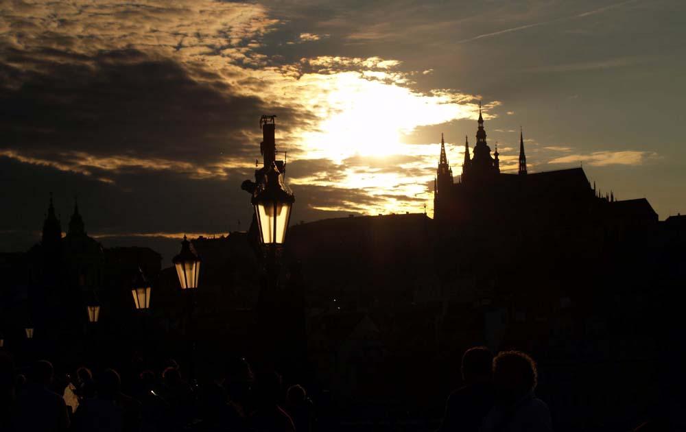 Abend in Prag