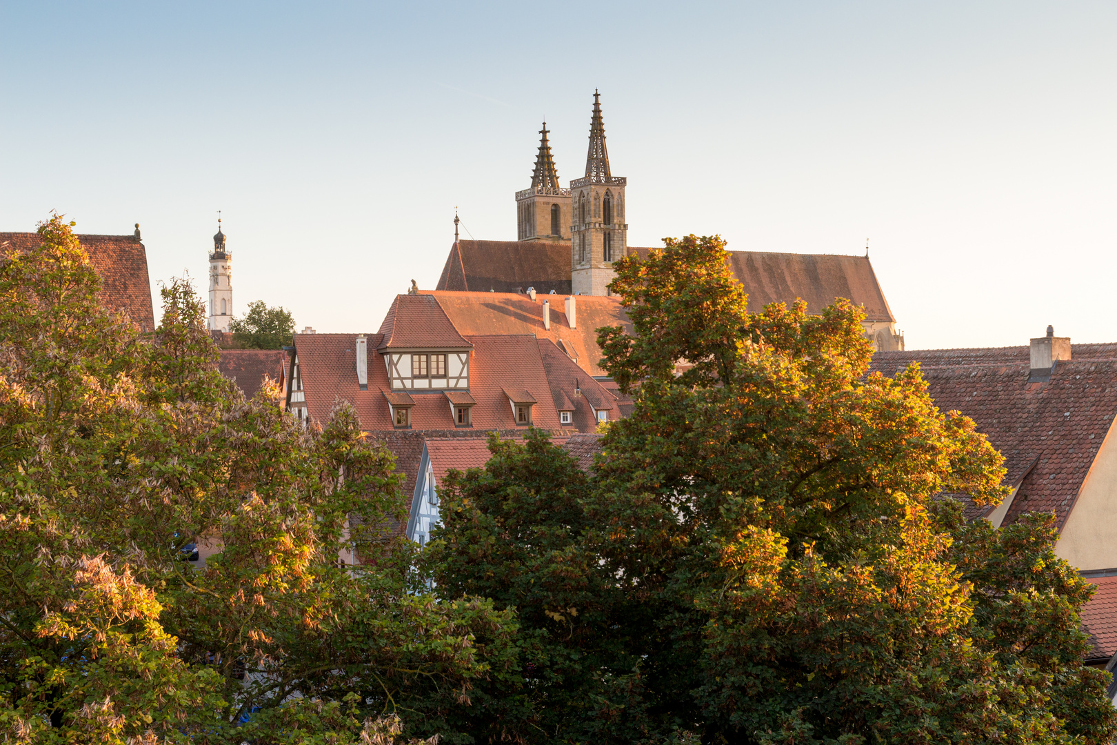 Abend in Rothenburg o.d.Tauber