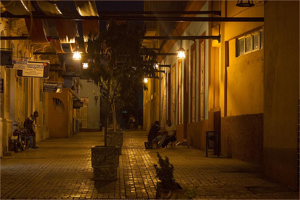 Abend in Santiago de Cuba
