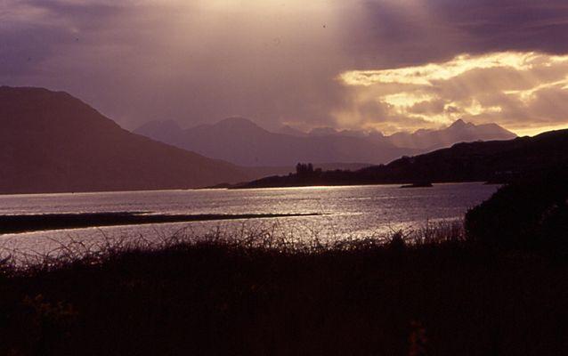 Abend in Schottland