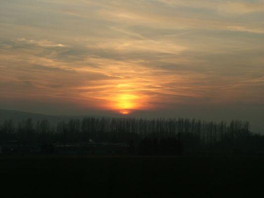 Abend in Südniedersachsen