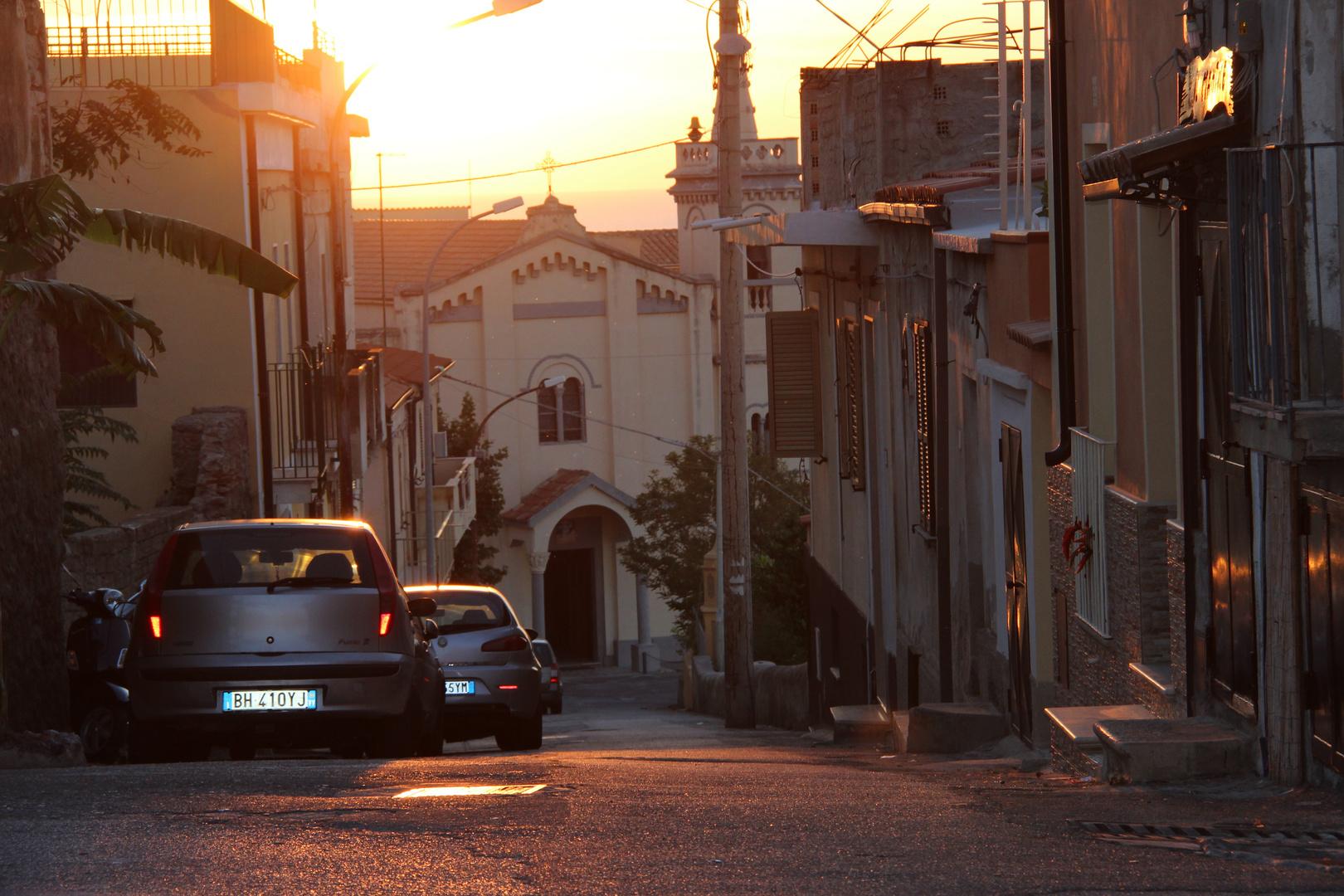 Abend in Tropea
