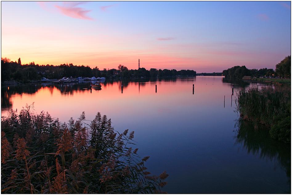 Abend in Werder