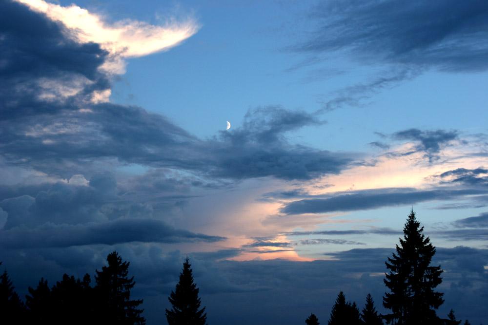 Abend über dem Schwarzwald