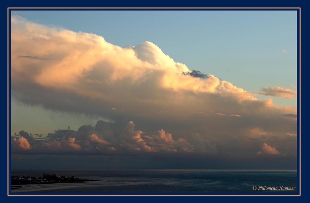 Abend über den Atlantik 3