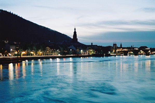 Abend über Heidelberg