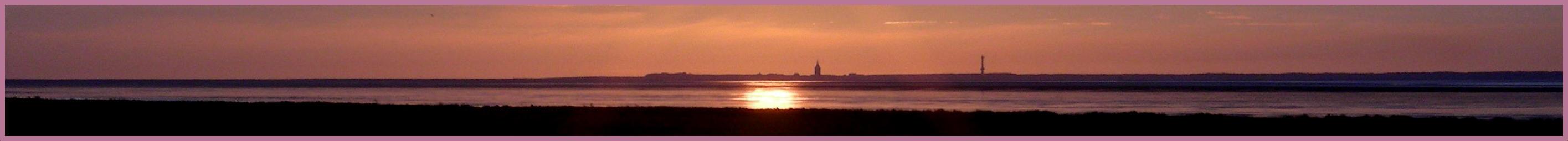 Abend über Wangerooge -2-
