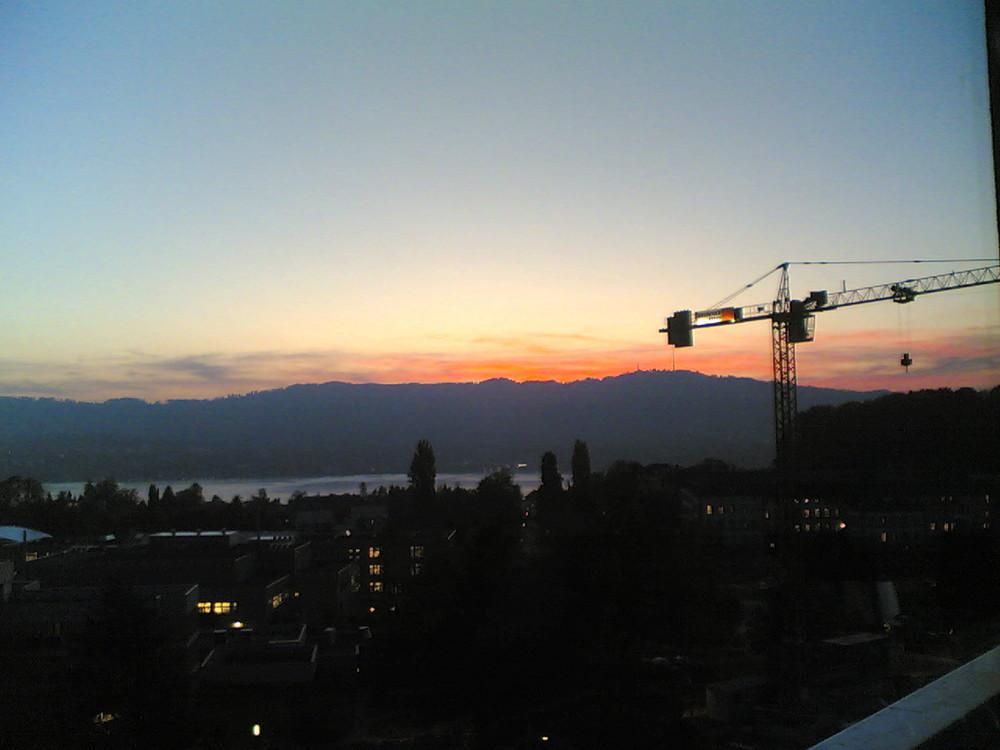 abend wird es wieder über .... Zürich...