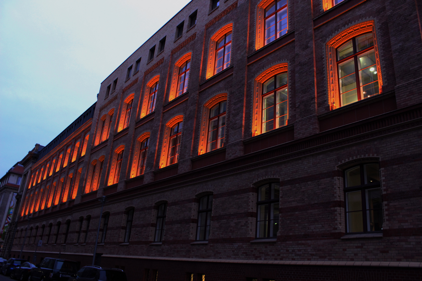 Abendbeleuchtung