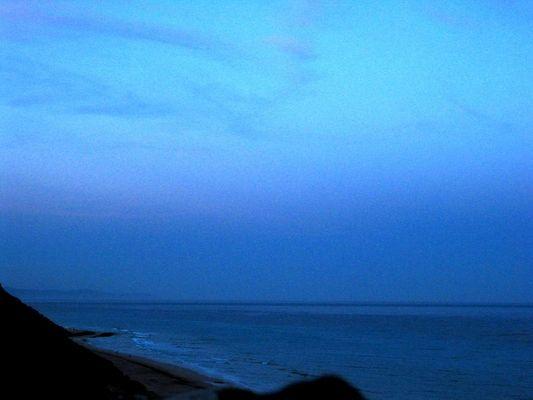 Abendblau