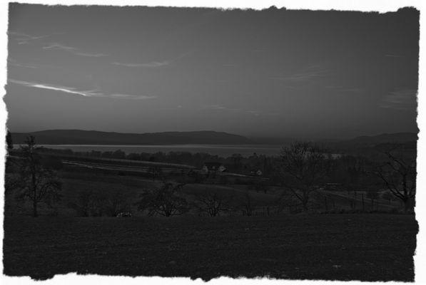 Abenddämmerung am Bodensee