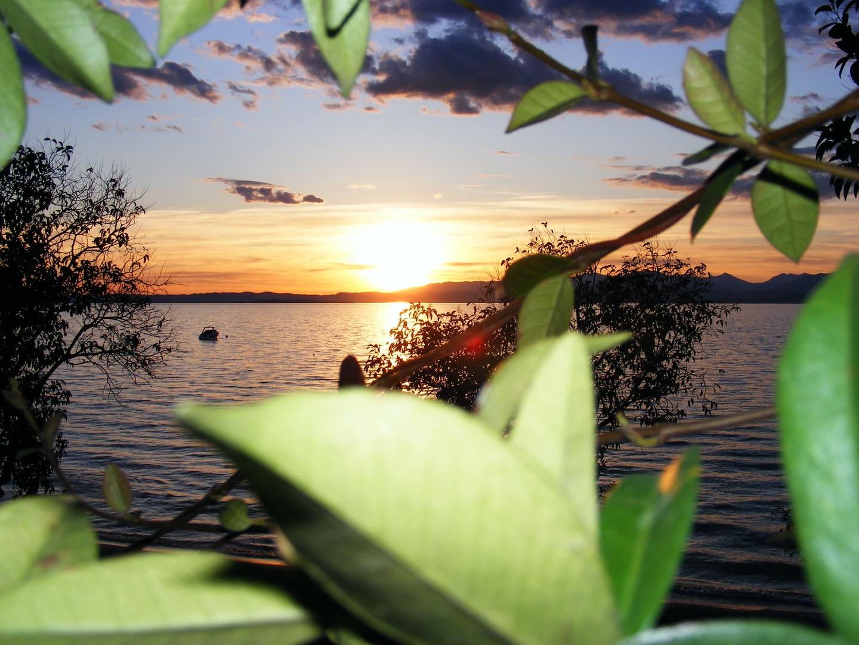 ...Abenddämmerung am Gardasee