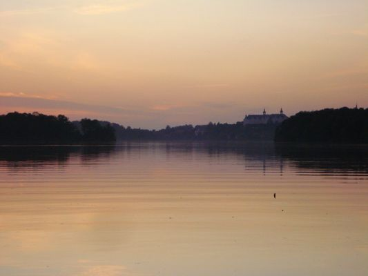 Abenddämmerung am Plöner See