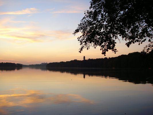 Abenddämmerung am Plöner See II