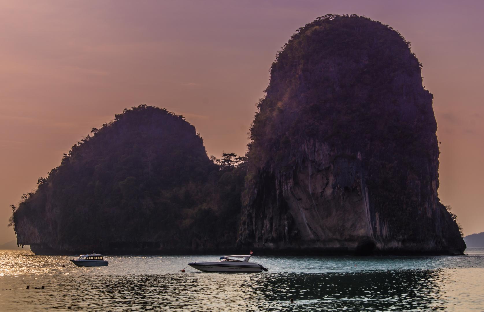 Abenddämmerung - Aonang/Südthailand