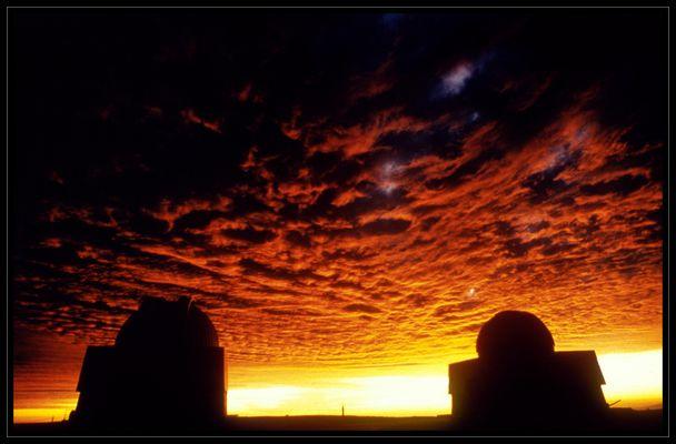 Abenddämmerung auf dem Cerro Tololo