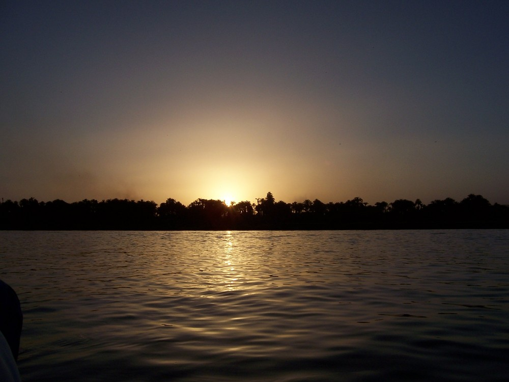 Abenddämmerung auf dem Nil II