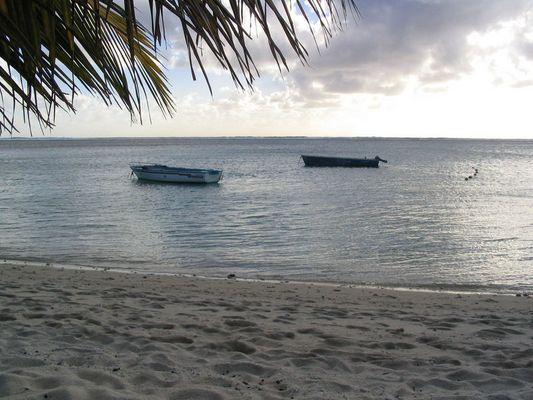Abenddämmerung auf Mauritius