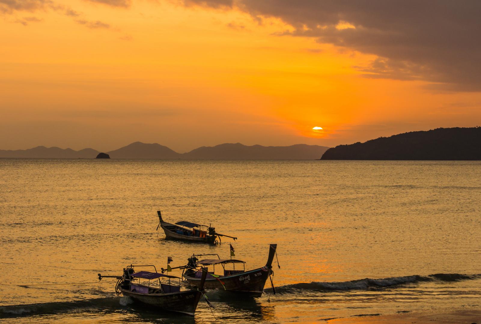 Abenddämmerung II - Aonang/Südthailand