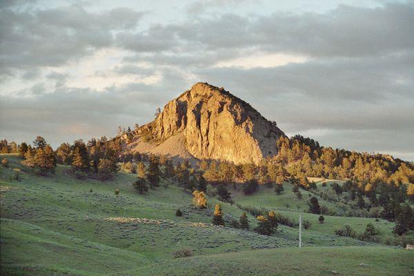 Abenddämmerung in Wyoming