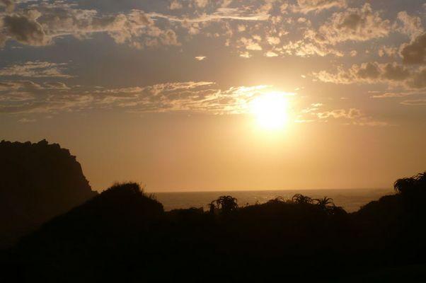 Abenddämmerung, StormsRiver, South Africa