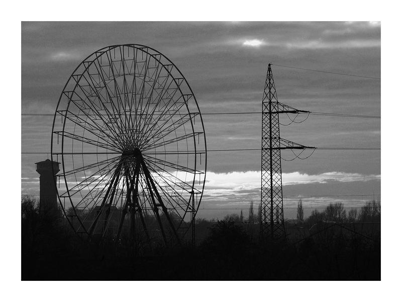 Abenddämmerung über dem Ruhrgebiet