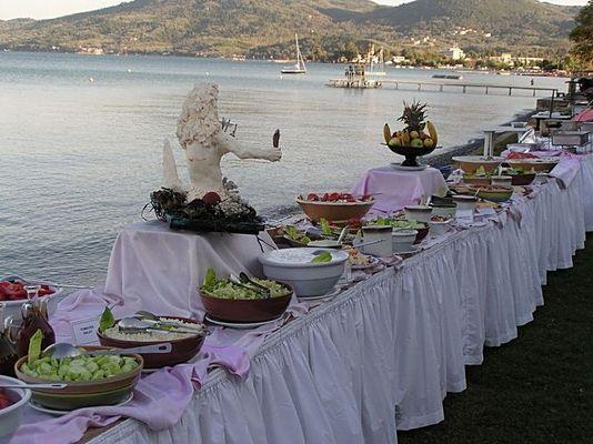 Abendessen auf Korfu