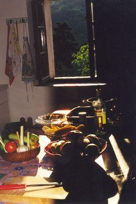 Abendessen in der Toskana 2