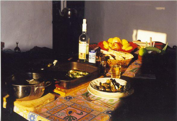 Abendessen in der Toskana