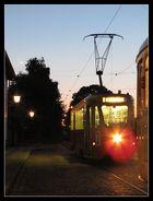 Abendfahrt im Straßenbahnmuseum Skjoldenaesholm (DK)