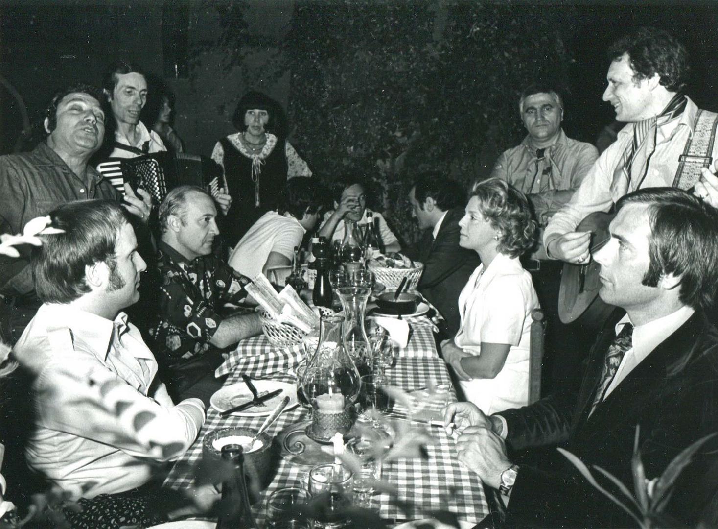 Abendfest in Rom