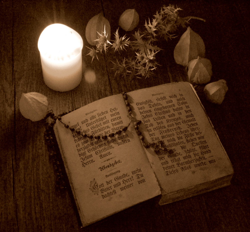Abendgebet - an evening prayer