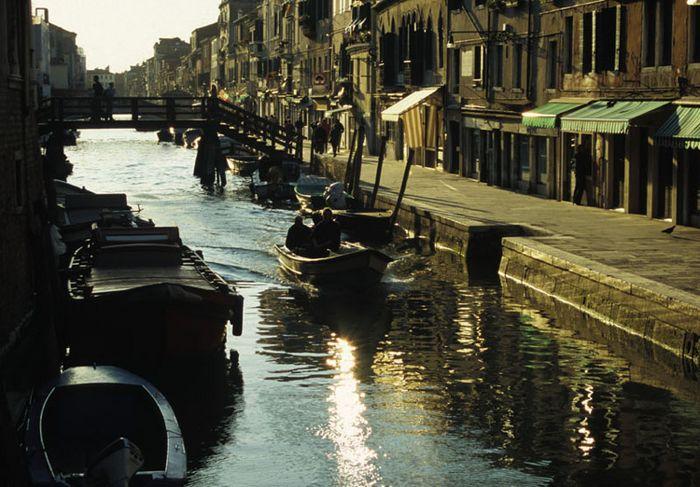 Abendgold in Venedig