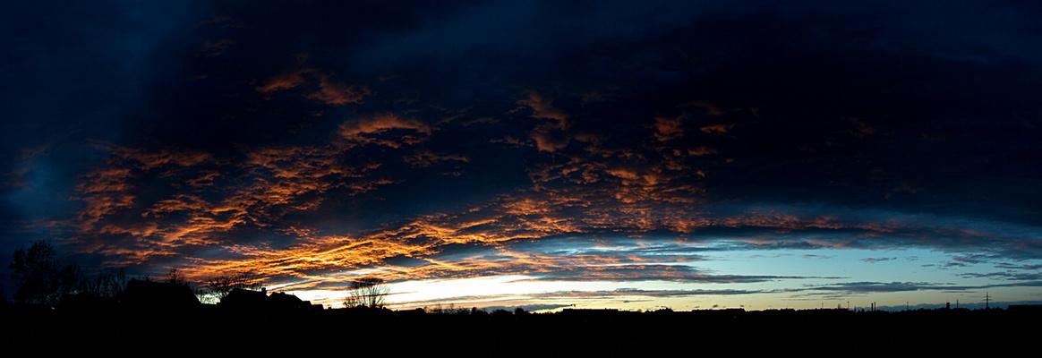 Abendhimmel 28.2.2010