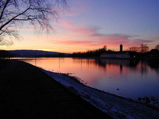 Abendhimmel am Bodensee