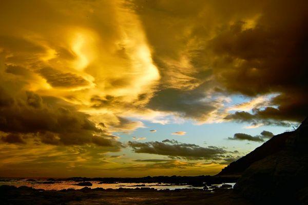 Abendhimmel in Kaikoura - Neuseeland - Südinsel