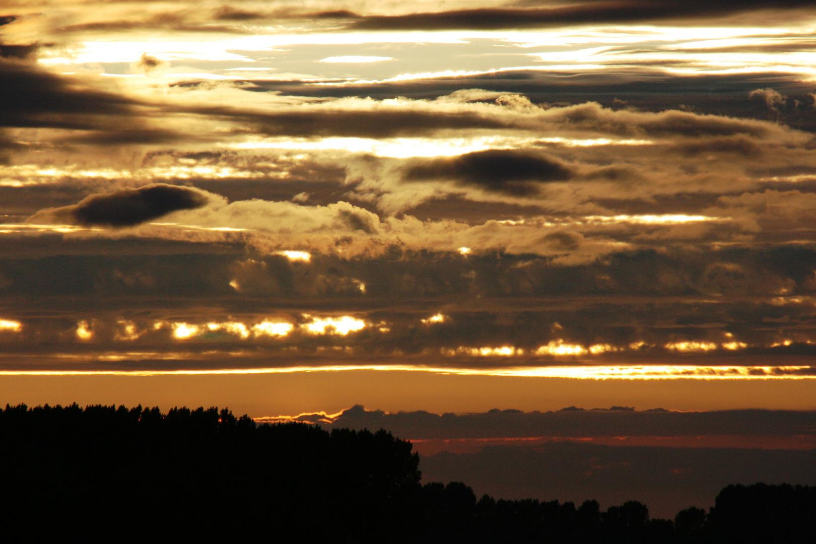 Abendhimmel in Zeeland / Holland
