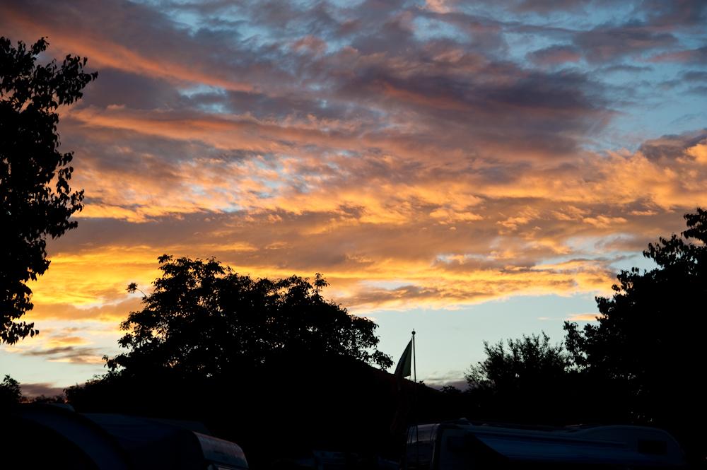 Abendhimmel über Krk