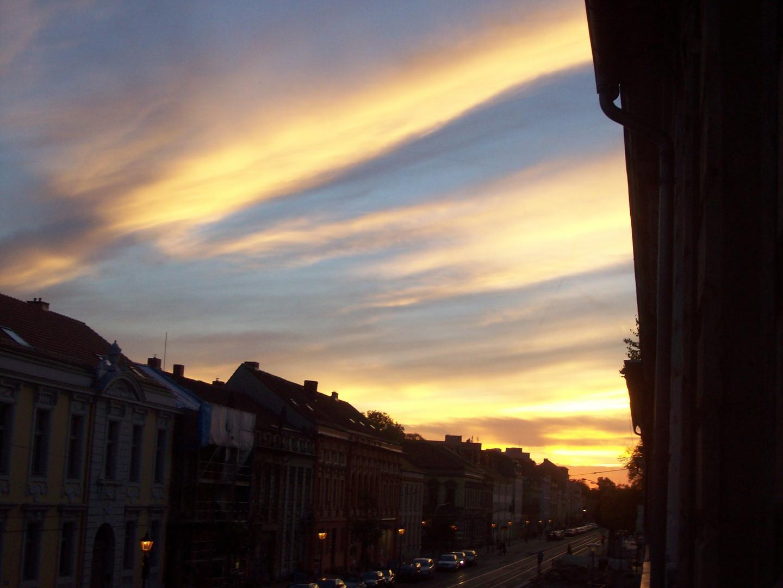 Abendhimmel über Potsdam
