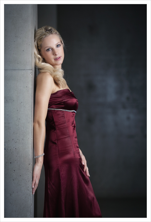 Abendkleid in ROT ... 03.2013
