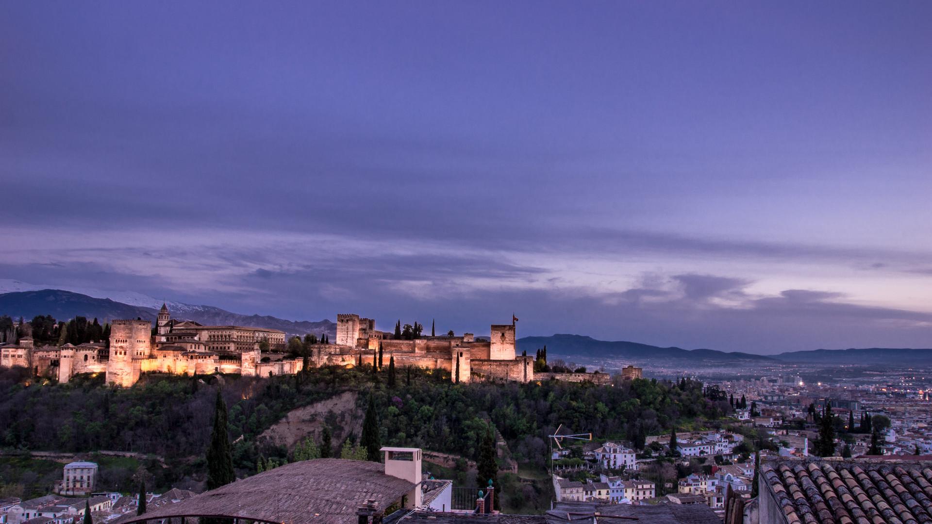 Abendliche Alhambra